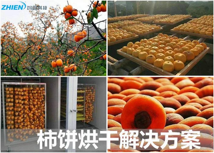 柿饼烘干机 柿饼烘干房 柿饼烘干工艺及解决方案-空气能热泵厂家