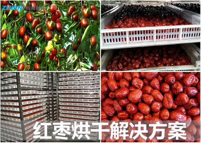 红枣烘干机 红枣烘干房 红枣烘干工艺及解决方案-空气能热泵厂家