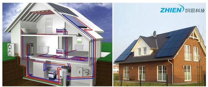 商用太阳能热水系统-空气能热泵厂家