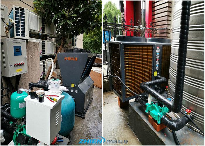 沐足热水工程解决方案-空气能热泵厂家