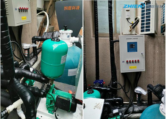 酒店足浴馆热水工程:杭州全季足浴、洗浴中心热水工程-空气能热泵厂家