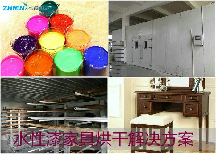 水性漆烘干机 水性漆烘干房 水性漆烘干工艺解决方案-空气能热泵厂家