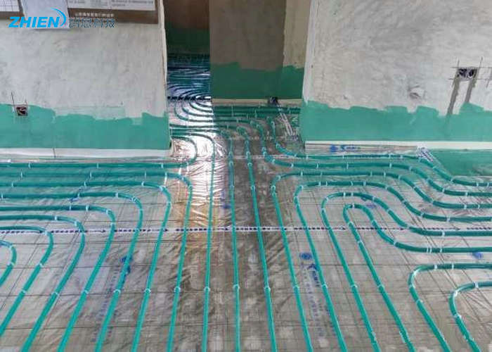 地暖管怎么正确连接 地暖盘管铺设需要注意什么-空气能热泵厂家